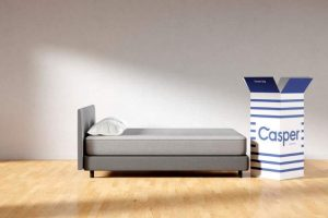 Casper memory foam mattress