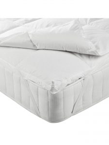 John Lewis and Partners goose down mattress topper